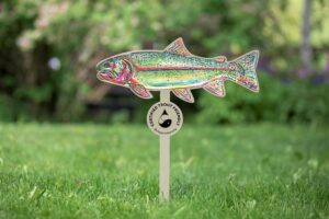 trout friendly lawns sign